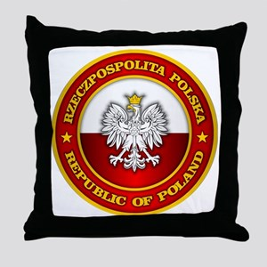 Polish Medallion Throw Pillow